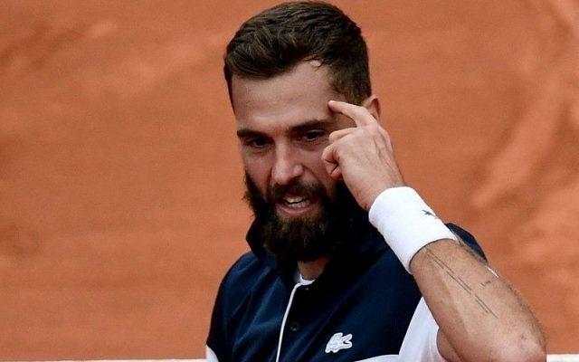 Benoit Paire tornagyőzelemmel hangolt a Garrosra. - Fotó: ATP