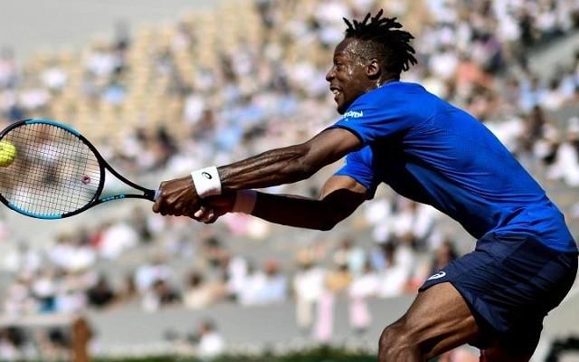 Monfils szettveszteség nélkül jutott el a legjobb 16-ig. - Fotó: ATP