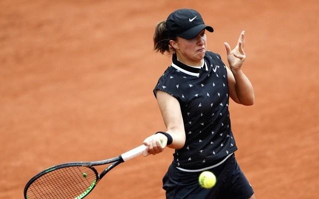 Swiatek két sima győzelemmel indította élete első felnőtt Garrosát. - Fotó: WTA