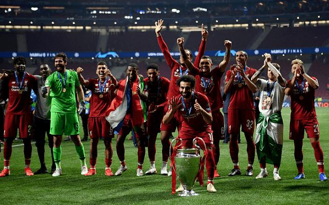A Liverpoolnak ez volt a hatodik BL győzelme. - Fotó: Twitter