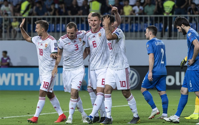 A magyar válogatott csütörtökön Montenegróban lép pályára. - Fotó: Origo