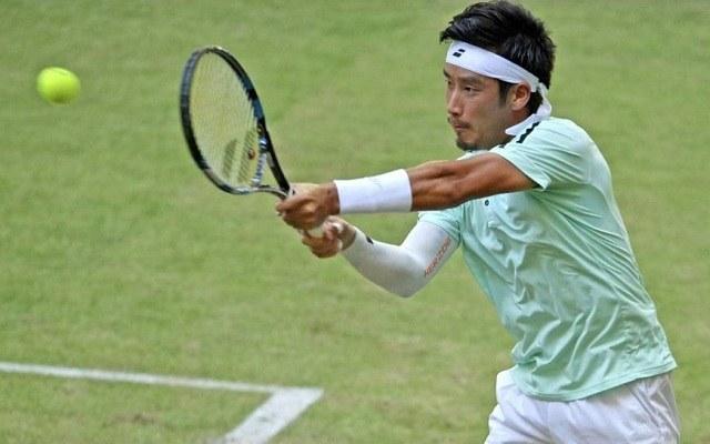Sugita füvön érte el pályafutása eddigi legszebb sikereit. - Fotó: ATP