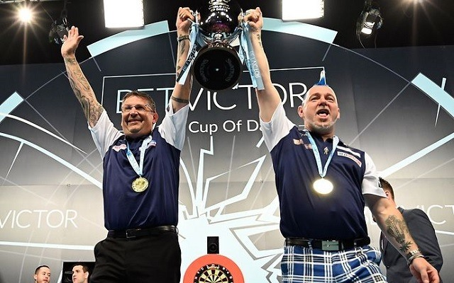 Skócia története során először nyerte meg a csapat-vb-t. - Fotó: PDC
