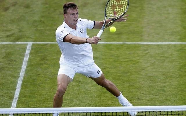 Fucsovics meccsabdákat hárítva jutott be a nyolc közé. - Fotó: ATP