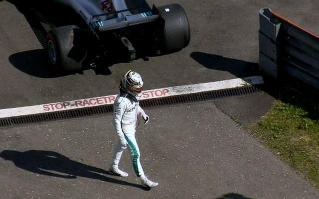 Hamiltonnak tavaly nem sikerült befejeznie az Ausztriai Nagydíjat. - Fotó: F1