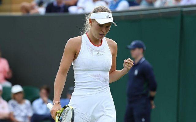 Wozniacki mindkét eddigi ellenfele megsérült. - Fotó: WTA