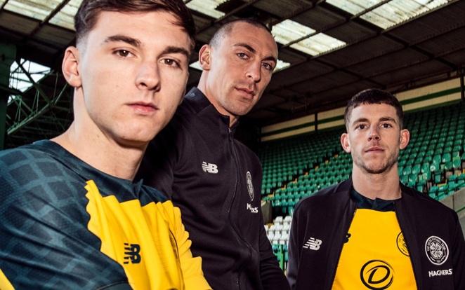 A Celtic új idegenbeli meze. fotó: Twitter