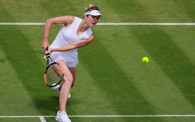 Svitolina négy elbukott GS-negyeddöntő után Wimbledonban elődöntőbe juthat. - Fotó: WTA