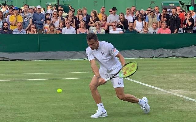 Fucsovics 4 szettben hozta a Novak elleni meccsét. - Fotó: ATP
