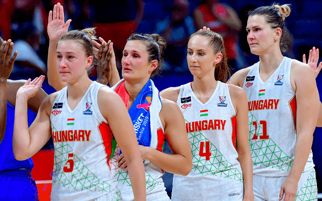 Az olimpiáért játszik a magyar válogatott! - Fotó: MTI