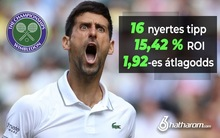 Profittal zártuk Wimbledont - íme a számok!