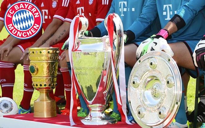 A 2012/13-as szezon felejthetetlenre sikerült. fotó: Bayern Official