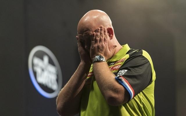 A világelső hollandnak nem ment a játék Las Vegasban. - Fotó: PDC