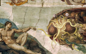 A világot egy repülő spagettiszörny uralja! - és erre van is odds