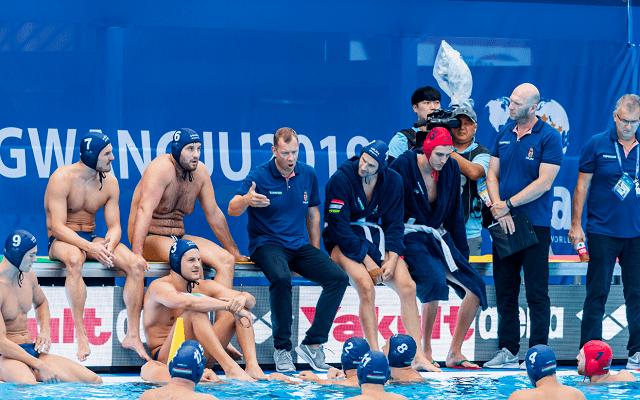 Ausztrália ellen negyeddöntőzik válogatottunk kedden. - Fotó: mvlsz.hu