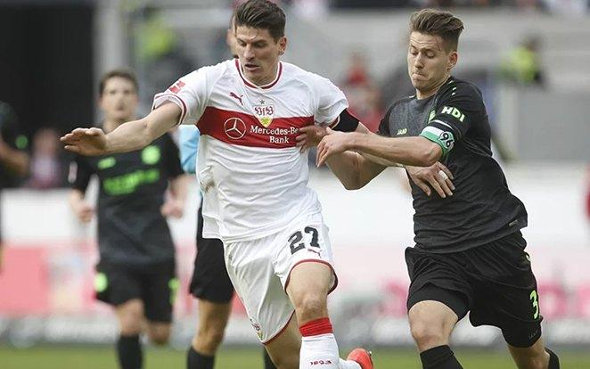 Gómez anno a Stuttgart II-ben kezdte profi karrierjét, így tudja milyen alsóbb osztályban játszani. fotó: Bundesliga 2 Official