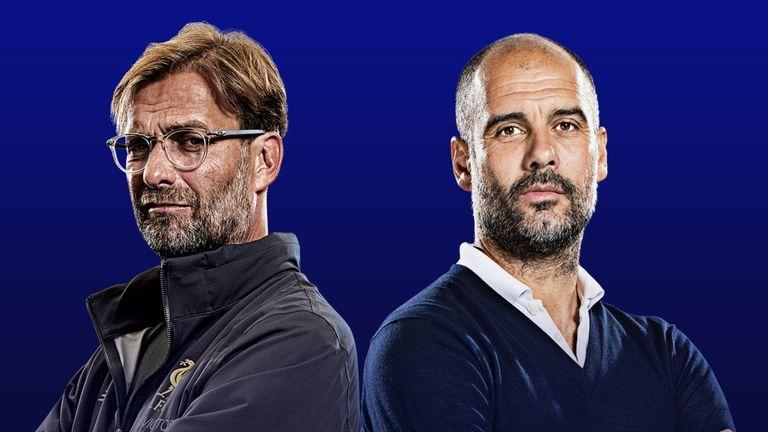 Vajon ezúttal Klopp vagy Guardiola örülhet? - Fotó: skysports.com