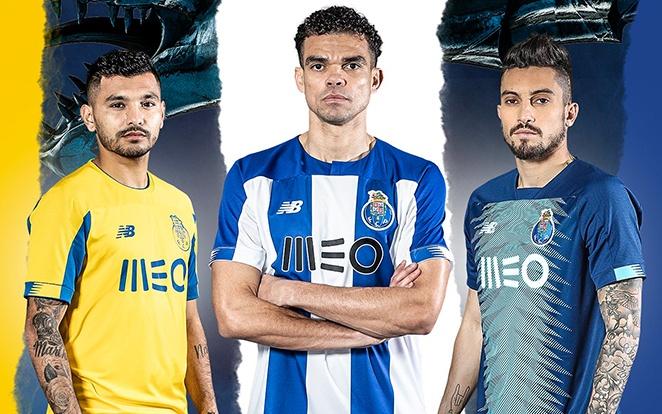Így fest a portugálok 2019/20-as mezszettje. fotó: Twitter