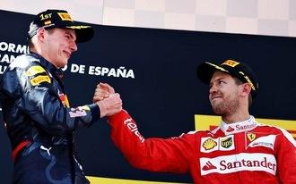 Vettel a dobogóról is lecsúszik?