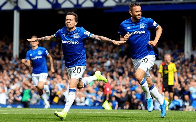 Az Everton ezúttal az Aston Villa vendége lesz. - Fotó: Twitter
