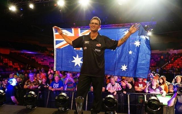 Heta élete legnagyobb sikerét aratta Brisbane-ben. - Fotó: PDC