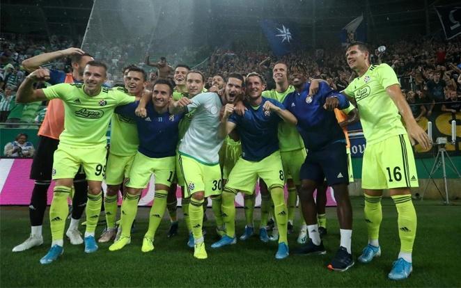 Sajnos a mi publikumunk előtt ünnepelhettek a horvátok. fotó: Twitter
