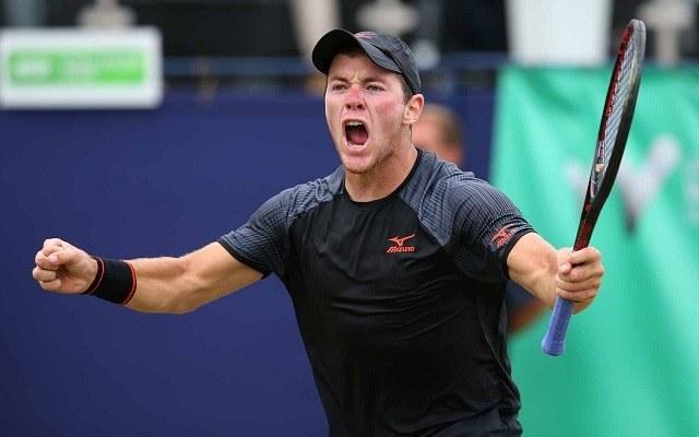 Koepfer pályafutása legjobb világranglistás helyének (113.) örvend. - Fotó: ATP