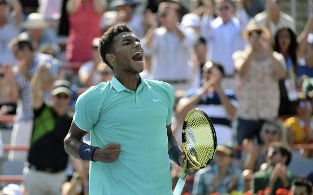 Felix a 2016-os junior US Open döntőjében éppen Kecmanovicot verve szerezte meg a trófeát. - Fotó: ATP