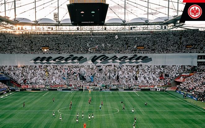 A szinte bevehetetlen Commerzbank-Arena. fotó: Twitter