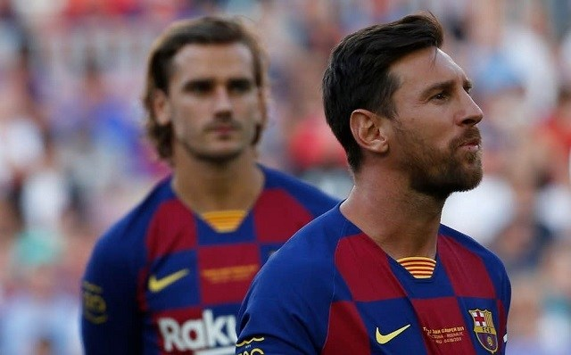 Messi és Griezmann első ízben játszhat együtt tétmeccsen / standard.co.uk