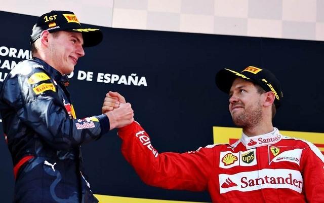 Verstappen 25 ponttal vezet Vettel előtt. - Fotó: F1