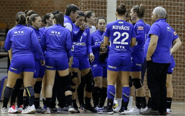 Győzelemre készül az MTK szombaton. - Fotó: facebook.com/mtk.budapest.kezilabda