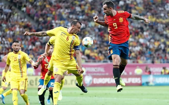 Alcácer nem csak a Dortmundban van remek formában. fotó: Selección Española de Fútbol Twitter