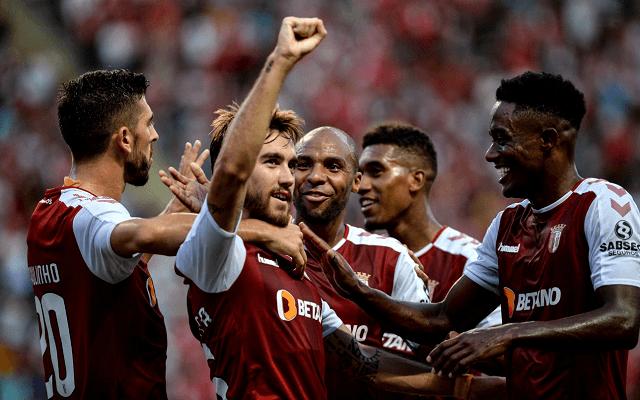 A Braga a Slovant fogadja csütörtökön. - Fotó: twitter.com/scbragaoficial