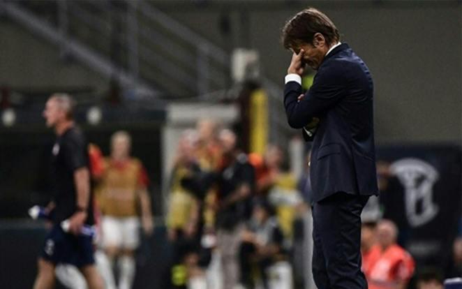 Conte ábrázata elég árulkodó. fotó: Twitter