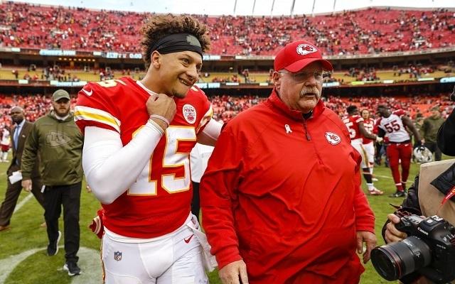 Mahomes és Reid zseniális párost alkot. - Fotó: NFL