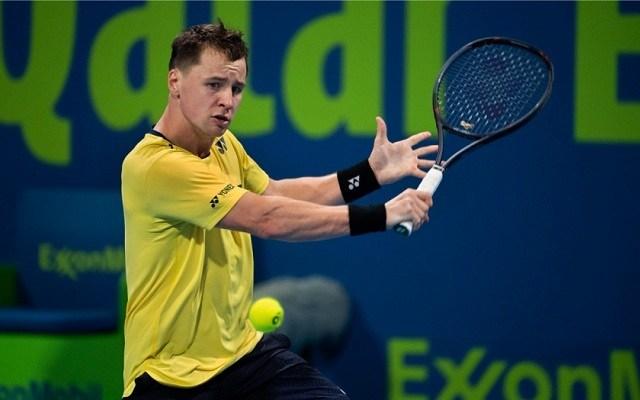A litván igazi specialistája a fedett pályás tenisznek. - Fotó: Twitter