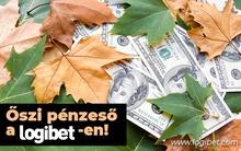Pénzesőt hozott a szeptember a Logibeten