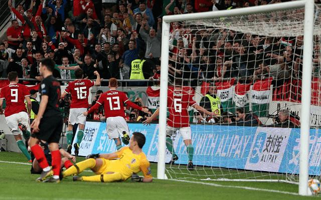 Márciusban 2-1-re nyertünk a horvátok ellen. - Fotó: facebook.com/magyarlabdarugoszovetseg/