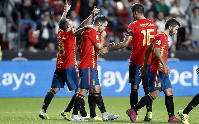 A spanyolok gyakorlatilag már páholyban vannak. - Fotó: twitter.com/SeFutbol