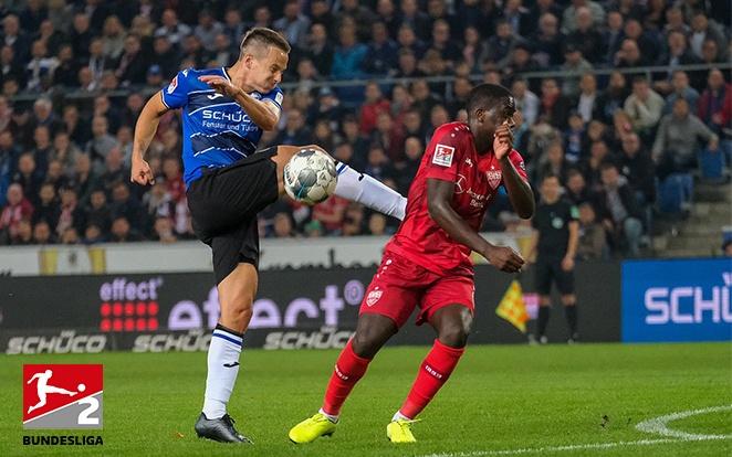 Idei első vereségét szenvedte a Stuttgart ellen a Bielefeld. fotó: Twitter