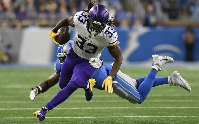 Cook vezeti a ligát futott yardok tekintetében. - Fotó: NFL