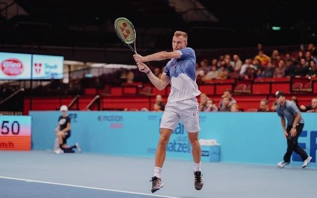 A magyar játékos tavaly negyeddöntőt játszott Bécsben. - Fotó: Facebook/Fucsovics Márton