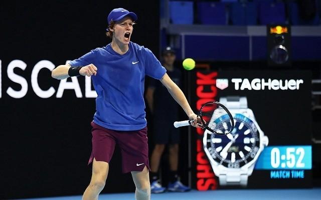 Sinner már biztosan elődöntős Milánóban. - Fotó: ATP