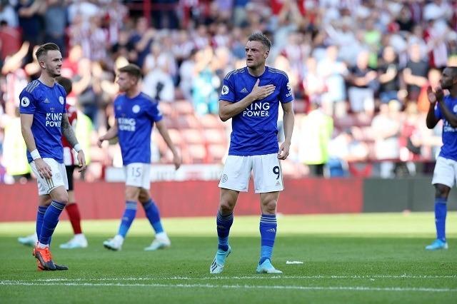 Jamie Vardy 10 góljával vezeti a PL góllövőlistáját / Fotó: Leicester City facebook.com