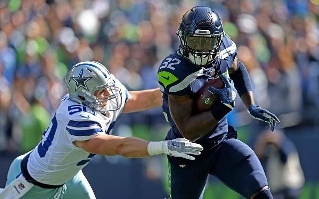 Nehéz lesz megfékezni a Seattle futójátékát. - Fotó: NFL
