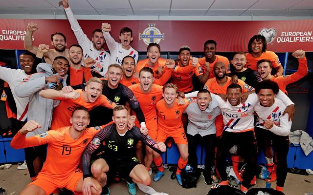 Örömfocival búcsúzhatnak a hollandok. - Fotó: twitter.com/onsoranje