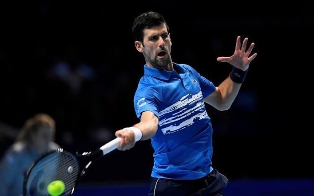 Djokovics sima 2-0-lal kezdte a vb-t. - Fotó: ATP