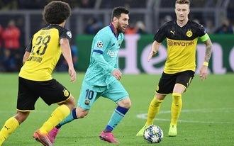 1,90-ért tippelünk a Barca-Dortmundra