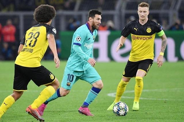 Messi a dortmundi mecsen még csak 30 percet játszott, most 90-et fog / web.de